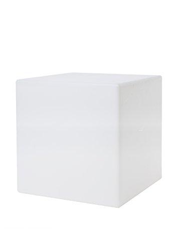 Light Cube Life 62444l l'objet de lumineux 43 cm LED, plastique, blanc, 43 x 43 x 43 cm