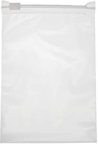 HeiZip 100 x sacchetti con chiusura a cursore 200 x 150 mm, 60 mµ/MY, trasparente, richiudibile, sicuro per gli alimenti