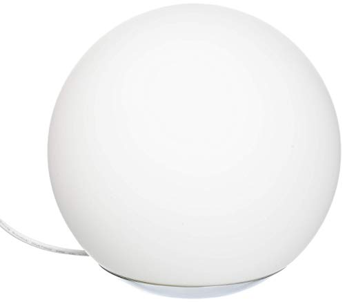 Smarte LED-Glastischleuchte Spirit von WiZ; WLAN-schaltbar. Dimmbar; 64.000 Weißschattierungen + 16 Mio. Farben. Kombinierbar mit Amazon Alexa und Google Home.