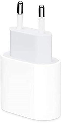 Apple - Adaptador de corriente USB‐C (20 W, cabeza original)