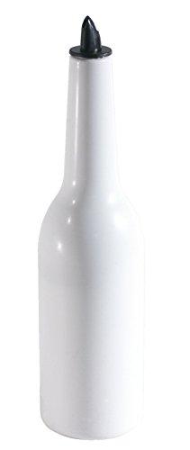 Flair Bottle aus weißem Copolymer-Butadien-Styrol, zum Show-Mixen (flair bartending) / Inhalt: 0,75 Liter | ERK