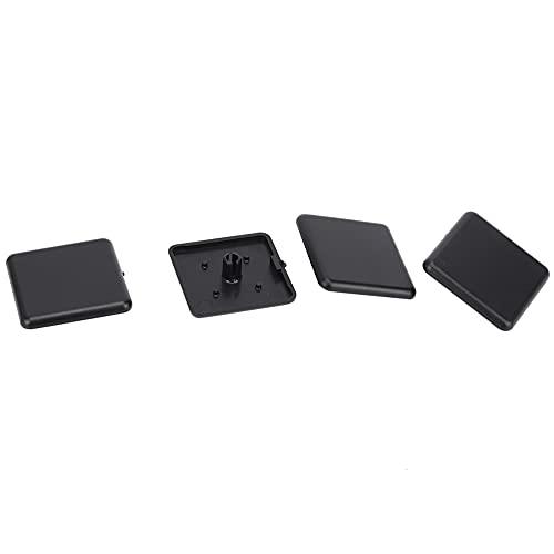 LANTRO JS - Tapas de extremo de perfiles de aluminio, 50 piezas 2020/3030/4040 Tapas de extremo de plástico para sillas, escritorios, mesas, camas(EU Standard 4040)