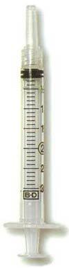 BD Slip Tip Dispensing Syringe (3 ML 3cc) (2 Pack)