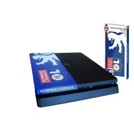 Photo of Subsonic PS4 Slim Skin – OLYMPIQUE LYONNAIS Football Club PlayStation