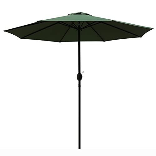 Sombrillas Paraguas de Mesa de Patio de Metal Resistente Extra Grande, Parasol Independiente Impermeable de La Protección Solar para El Rancho de La Reunión de Los Deportes de La Terraza de La Villa,