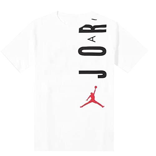 Nike Jordan T-Shirt da Uomo Air Bianca Taglia XS cod CZ8402-100
