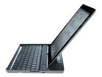 FAKTOR twee Bluetooth toetsenbord iPad2 mini USB BT2.0 Li-Ion batterij USB-kabel aluminium design
