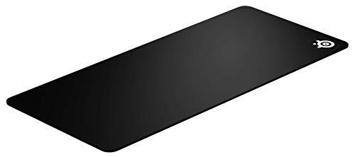 SteelSeries QcK XXL - Gaming-Mauspad - 900mm x 400mm x 2mm - Stoff - Gummiunterseite - Schwarz