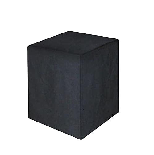 Funda Barbacoa Grande Impermeable, Apta para barbacoas rectangulares, Negro, 68×68×72/120cm