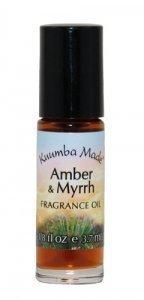 Amber & Myrrh -- 1/8 Ounce Roll On by KUUMBA MADE