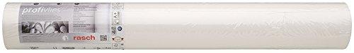 Rasch 182804 Vliestapete, Weiß, 0,75 x 25,00 mm