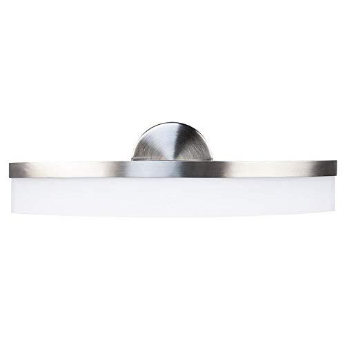 allen + roth Lynnpark 1-Light Nickel Modern/Contemporary Vanity Light