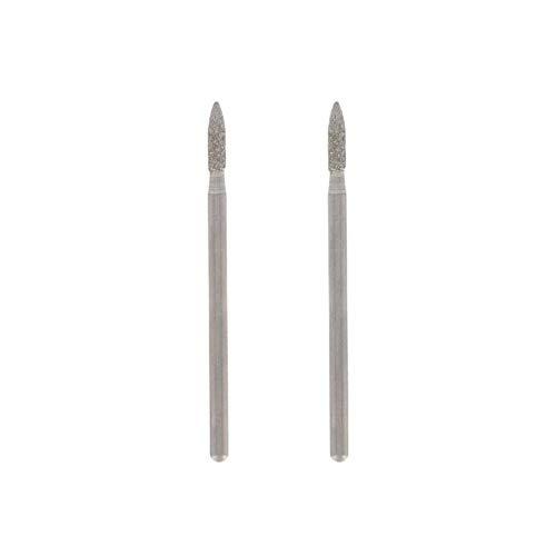 Dremel 7144 - Muela de Diamante 2.4 mm, Accesorio para Herramientas Rotatorias, Diámetro de Trabajo 2.4 mm, 25.000 RPM Máximas