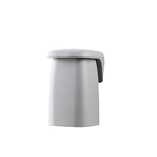 NA Cepillo de Dientes esterilizador UV Colgar de la Pared Cepillo de Dientes Titular Pasta de Dientes automático dispensador del exprimidor de baño Set de Accesorios (Color : Cup Gray)