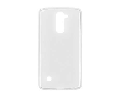 etuo Handyhülle für LG Stylus 2 Plus - Hülle FLEXmat Hülle - Weiß - Handyhülle Schutzhülle Etui Hülle Cover Tasche für Handy