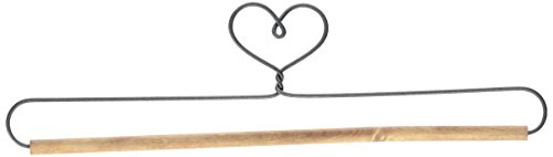 "Ackfeld 66770 Heart with Stained Dowel Holder, 12"", Single Heart, 12"""