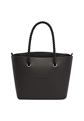O bag OBAG, Bolso de mano para Mujer, Negro, Talla única