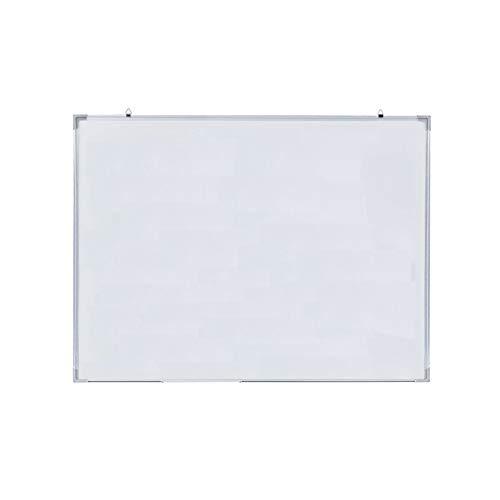 SHUAI- Tableau Blanc Surface D'écriture Lisse Tableau Effaçable à Sec Avec Fente Pour Stylo Amovible Pouvant Absorber Les Objets Magnétiques Plusieurs Tailles Pour Le Bureau à Domicile(Size:60x90cm)