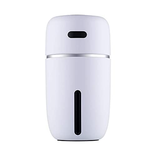 YLCS Ylcs Humidificador Humidificador Mini Usb Hogar Silencioso Pequeño Aire Acondicionado Habitación Reposición De Aire Spray De Coche (Color: Blanco)