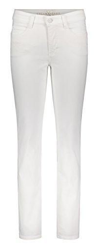 MAC Jeans Damen Dream Jeans, White Denim, W36/L28 (Herstellergröße: 36/28)
