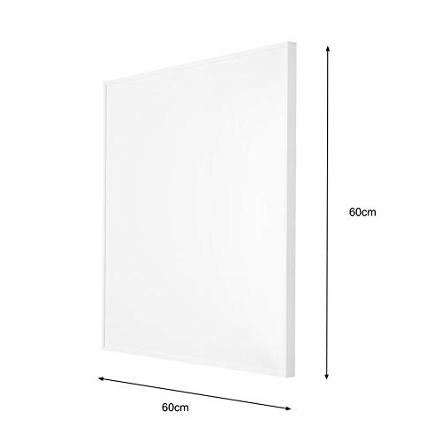 60x60cm Infrarotheizung Deckenmontage + Smart Home Thermostat Steckdose