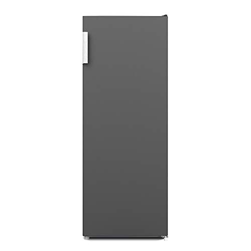 CHiQ FSD166NE4 Tiefkühlschrank 166 L | Gefrierschrank mit Dynamic Cooling-Funktion | LED-Beleuchtung | Wechselbarer Türanschlag | Schwarzer Edelstahl | A+| Sehr leise 42db