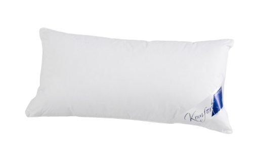 Böhmerwald Komfort Kopfkissen, 85 % Federn / 15 % Daunen, Füllgewicht: 575 g, Stützkomfort: fest, 40 x 80 cm