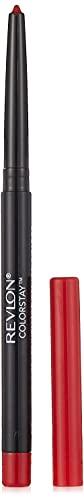 Revlon ColorStay Lip Liner Pencil with Built-in Sharpener, Longwearing &...