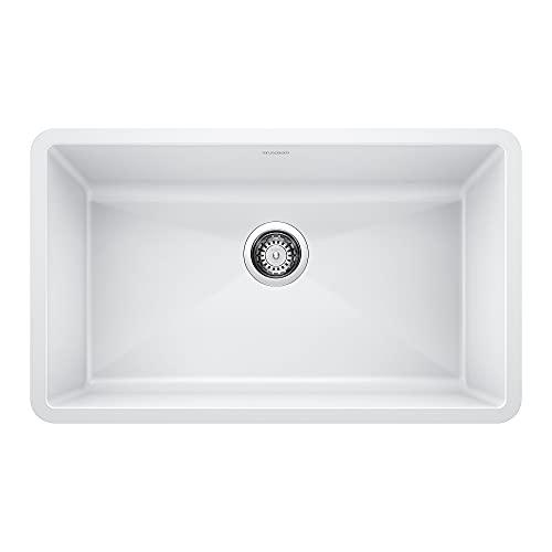 BLANCO 440150 Precis Super Single Bowl-White Sink,...