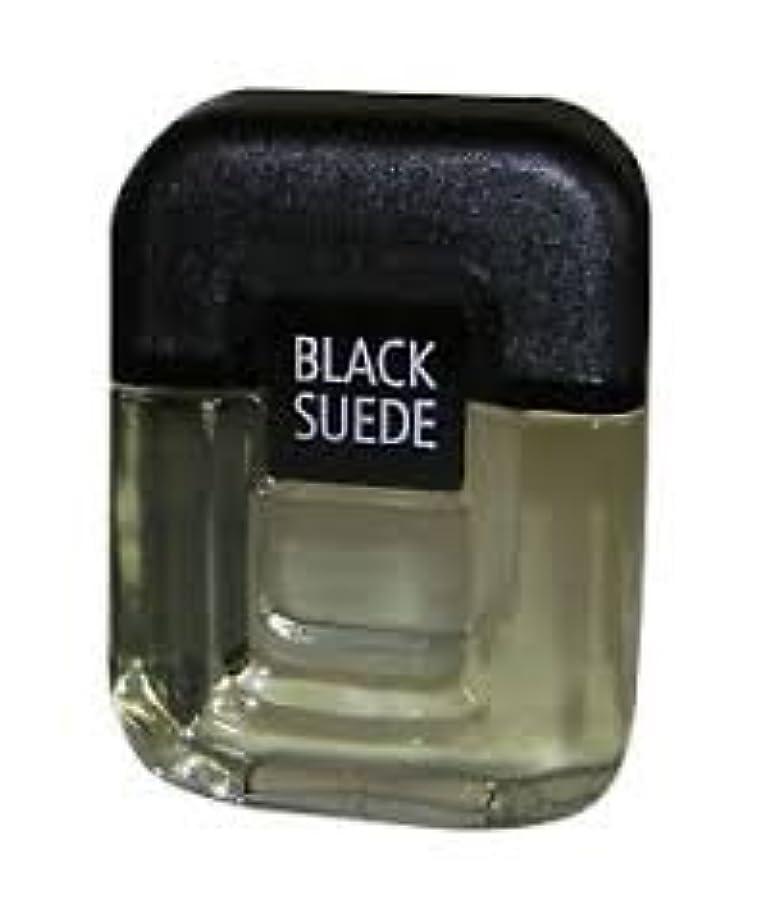満足させる咲く和らげるBlack Suede (ブラックスエード) 3.4 oz (100ml) Aftershave Splash (アフターシェーブ ローション) by Avon for Men