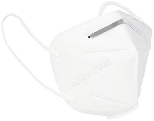 Staroon Maschera Protettiva FFP2 / KN95 con Filtro Respiratore , Filtrazione al 94% (Confezione da 100 Pezzi)