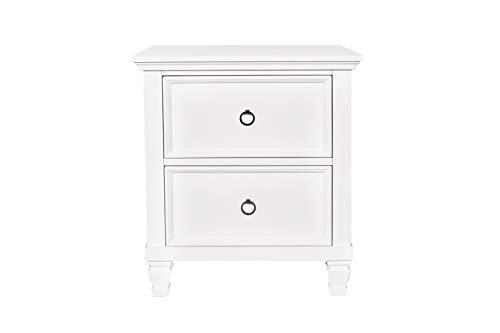 New Classic Furniture Tamarack Nightstand, White