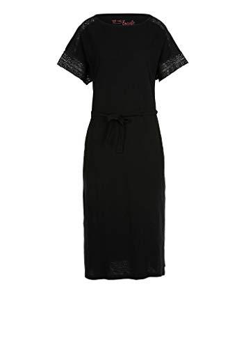 s.Oliver Damen Sommerkleid Kleid 120.10.005.20.200.2038239 Maxi, black, 42 (Herstellergröße: XL)