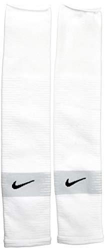 Nike Unisex NK STRK LEG SLEEVE-GFB Socks, Weiß (white/Black), L/XL
