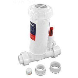 Custom Molded CMP25280100000 Powerclean Ultra Inline Chlorinator with Clear Lid