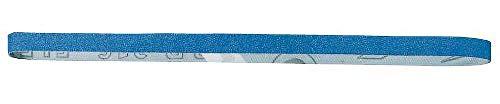 Bosch 2 609 256 240 - Juego de hojas de lija de 3 piezas para Black & Decker Powerfile, K40, metal, 13 x 455 mm, color azul