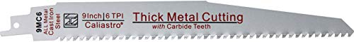 Product Image 3: 9-Inch Carbide Thick Metal Cutting Blade for Reciprocating/Sawzall Saws - For Cutting All Metals