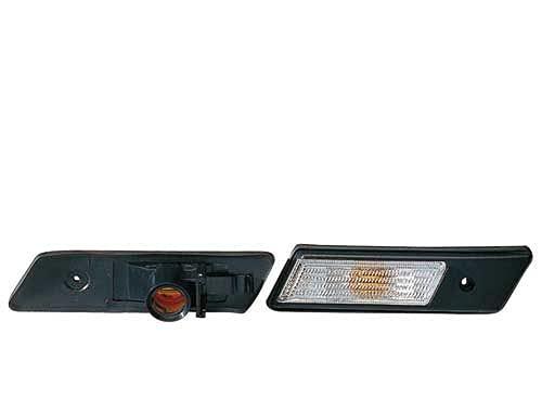 Depo 3102485 Droit, feu lateral, sans porte-lampe, blanc