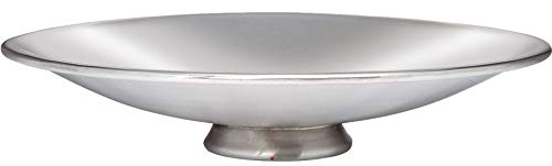 Large Shallow Pewter Bowl Ideal for Engraving 205mm Diameter