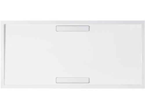 Villeroy & Boch Duschwanne Rechteck Squaro 140x90cm x1,8cm Anthrazit Super Flat
