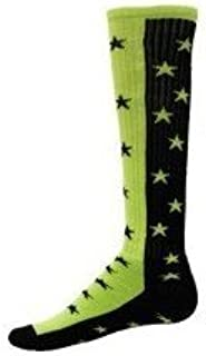 Red Lion Zenith Knee High Sock (Black/Neon Green - Medium)