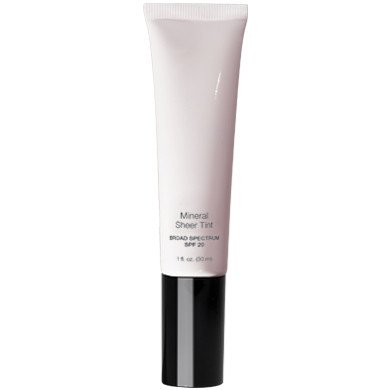 Mineral Sheer Tint Foundation Spf 20, New Makeup Tinted Moisturizer (Beach Glow)