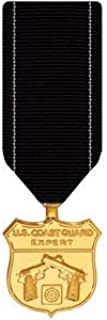 Medals of America Coast Guard Expert Pistol Medal Miniature Anodized