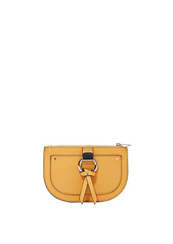 s.Oliver RED LABEL Damen Elegante Gürteltasche mit Metallring amber yellow 1