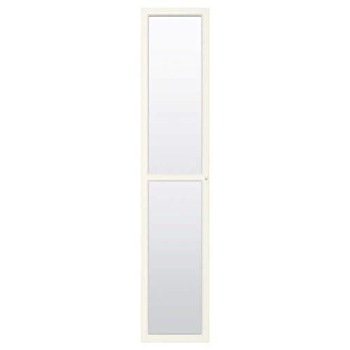 OXBERG Puerta de cristal, color blanco