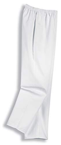 Uvex Whitewear 246 Damen-Arbeitshose - Weiße Männer-Bundhose 54