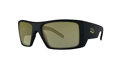 Óculos de sol ROCKER 2.0 HB AdultoUnissex Preto Matte/Ouro Único