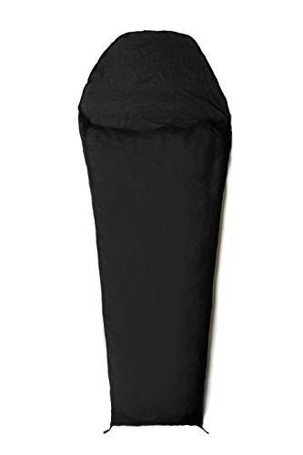 Snugpak | Silk Liner Mix | Accessoires | Soie & Coton Mélange Noir