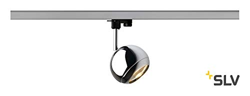 SLV Light Eye Spot, Gu10, inklusive 3 Pin Adapter, maximal 75 W, chrom 153102