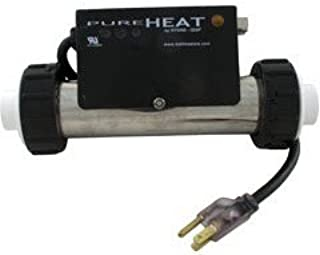 Hydro-Quip Compact Series Whirlpool Bath Heater In-Line 120V 1.5Kw 3ft Cord/Plug CT101-B PH101-15UP